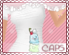 !CAPS ice cream | white