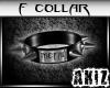]Akiz[ Metal Collar F.