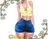 Rll Sunflower Top & Shor