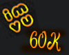 60k Support Sticker