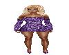 Purple Woven Dress