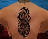 tribal serpent tattoo