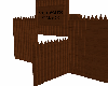 Wooden Palisade Gate