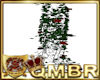 QMBR Pillar Red Roses