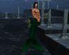 'Merman Tail Green