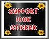 SUPPORT STICKER 100K