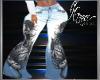 Faded Skull Jeans