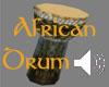 {T} African Drum