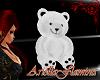 [ARIE] white teddy