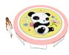 Kids Panda Trampoline