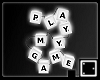 ` Scrabble Lamp v.2