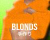 BLONDS HOODIE
