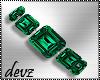 ! Emerald bracelet rt
