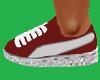 Red Sneakers Kicks