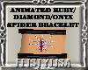 ! AnimatedSpiderBracelet