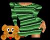 !A! Sweater Dress Green