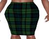 Pia-Green Pencil Skirt