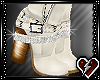 T Cream Ankle Boots