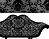 Black Silver Sofa