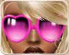 !NC Heart Glasses Pink