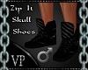 Zip It Skull Shoes