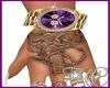 GLD Link Me Watch Purple