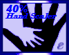HAND SCALER, 40%,M/F (2)