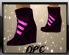 Boots Black Pink