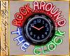 I~50's Diner Neon Clock