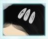diamond hair clips