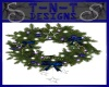 !TD Blu Christmas Wreath