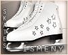 [Is] Ice Skates White