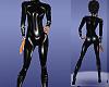 pvc latex body suit