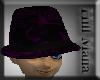 ]Hill[ Purple silk hat