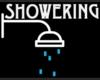 Showering Head Sign