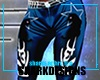 SD Blue Kat Fit Pants