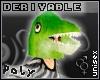 Dinosaur Mask m/f[deriv]