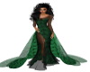 TEF GREENBLACK  GOWN