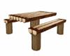 """""""Joei"""" Log Wood Table"""