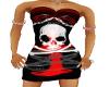 gothic skull dress