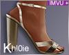 K gold heels +