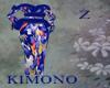 Kimono Drk BlueBan