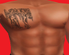 Gemini Chest Tattoo(210)