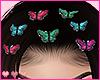 Butterflies Hair Clips