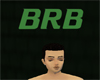Green BRB Automatic Sign