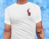 White RL Polo Logo Tee