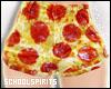 ❥ pizza shorts