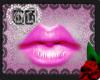 Pink Cute  Lip Glos Mesh
