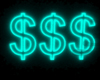 😆NEON TEAL $$