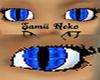 blue demon eye